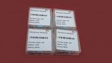 Фильтры мембранные дисковые, Тефлон (PTFE), диаметр 47мм, пористость 0,45мкм, 100шт/уп