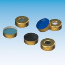 Крышка (кримп) 11 мм, с отверстием, с септой резина/бутил/TEF (100 шт.), ND11