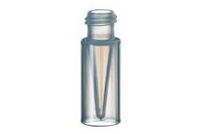 Виала микро (кримп) 0,7мл, коническая, темное стекло, 40 x 7mm (100шт) ND8